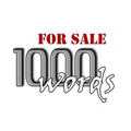 10% OFF your chosen word from 1000wordsforsale.com