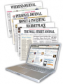 50% OFF The Wall Street Journal Europe Print and Online subcription