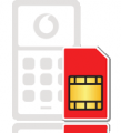 FREE Pay as you talk SIM pack from Vodafone