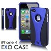 CaseCrown iPhone 4 Exo Polycarbonate Slim Fit Case