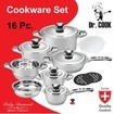 Dr. Cook 16-Piece Cookware Set